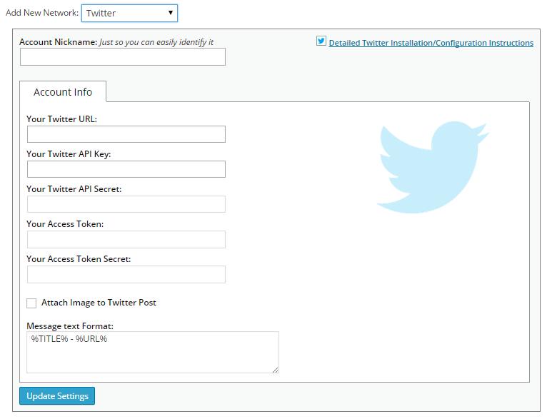 Tự động đăng bài viết lên Twiter