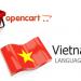 Việt hóa OpenCart
