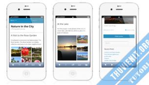 Làm giao diện mobile cho wordpress