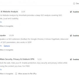 Enable zenmate trên Google Chrome