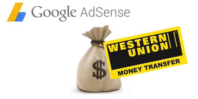 Hướng dẫn rút tiền AdSense qua Western Union