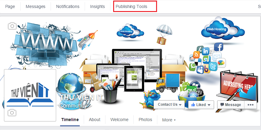 Publishing Tools Fanpage