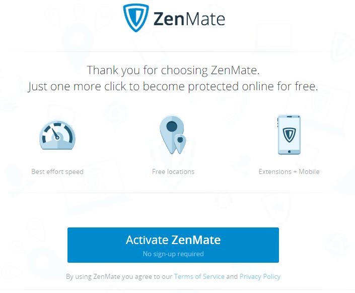 Kích hoạt ZendMate