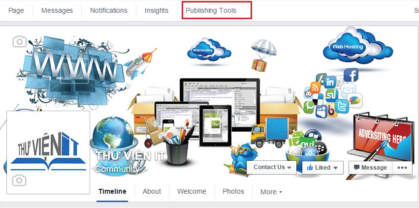 Publishing Tools Fanpage